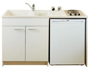 meuble evier frigo plaque cuisson