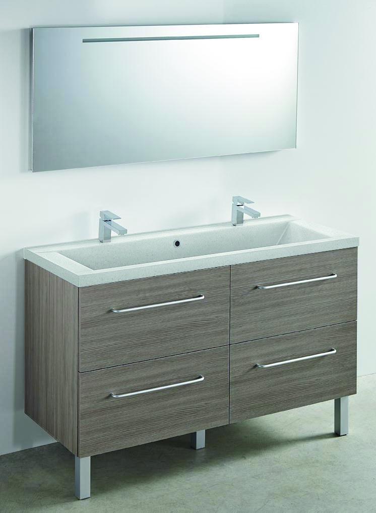Carea sanitaire concept meuble vasque toucan 600 800 for Meuble sanitaire